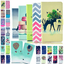 For Samsung Galaxy S6 S5 S4 S3 Luxury Painted Magnetic Money Wallet Cover Case
