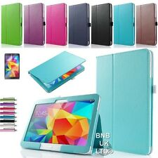 Pu Leather Folio Funda Stand cubrir para diversos Samsung Galaxy Tab Tablets