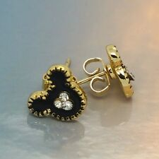 Mickey Stud Earrings 18K Gold Cute Mouse Crystals Fashion Jewelry Studs 10colors