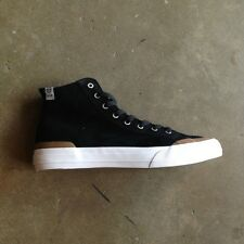 "HUF WORLDWIDE ""CLASSIC HI"" BLACK/GUM  --FAST FREE SHIP--"