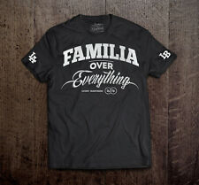 LUCKY BASTARDS  FAMILIA T SHIRT FAMILY OVER EVERYTHING HASTA LA MUERTE MEN'S