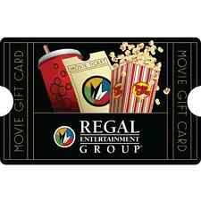 Regal Entertainment Group® Gift Card $25 $50 $100 - Mail Delivery