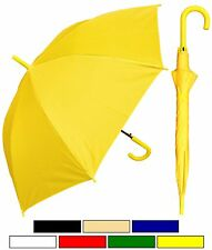 "Lot of 12 New RainStoppers 48"" Doorman, Matching Hook Umbrella-Free Shipping"