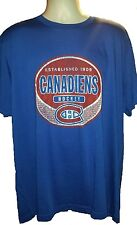Montreal Canadiens 1909 Distressed Hockey Blue T-Shirt