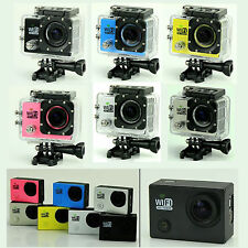 "2.0"" Wifi HD 1080P Helmet Cam Sports Camera DV DVR SJ6000 Waterproof 30M Diving"