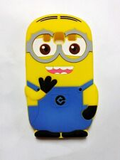 Coque Case Housse Silicone Galaxy Grand Core Prime -Minions moi moche et mechant