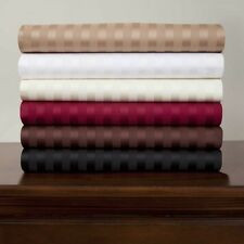 Luxurious Stripe Colors in 3 pc Fitted Sheet Set 1000tc 100%Egyptian Cotton