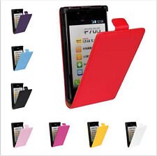 Hot Sale Flip ULTRA SLIM PU Leather Case Cover Pouch For For LG Optimus L7 P705