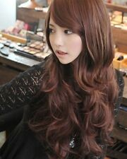 Sexy Cute Women Wavy Curly Long Wig Lady Fashion Wigs Party Costume Wig 3 Colors
