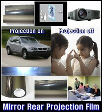 "Wide:60""/Mirror Rear Projection Film/Projector/Screen/Material/Window/Glass"
