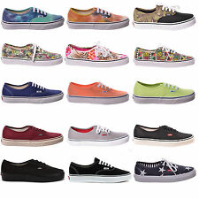 Scarpe unisex Vans U Authentic sneakers canvas tela skate shoes