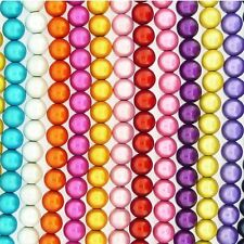 Miracle Illusion 3D Beads 8mm Round Beads 50 Beads many colour choices
