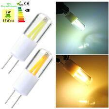 4x G4 LED COB SMD Filament Silice Gel Cabinet Ampoule Lampe Blanc/Chaud 1.5W 12V