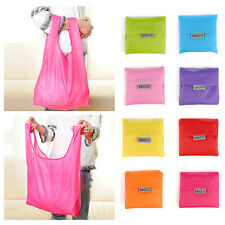 Recycle Eco Shopping Travel Shoulder Pouch Tote Handbag Folding Reusable Bags