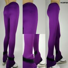 VC Ice Figure Skating Dress Pants VCSP20 Purple skating pants Cozypolar warm