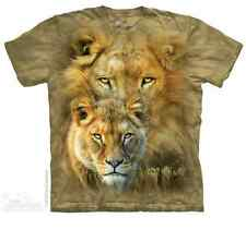 THE MOUNTAIN AFRICAN ROYALTY LIONS SAVANNAH PRIDE LIONESS MANE T TEE SHIRT S-5XL