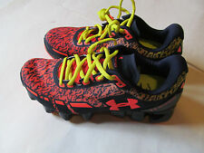 Under Armour Boys' Grade School Scorpio red/black Young man shoes NEW $100