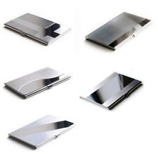 New Men Stainless Steel Aluminium Business ID Name Credit Card Holder Case CN
