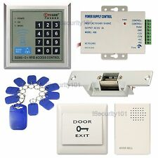 Access Control Door Home Entry Keypad RFID Card System Electric NO Strike Lock