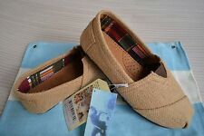 New with tag Toms NATURAL BURLAP WOMEN'S CLASSICS Shoes US size 5 to size 9