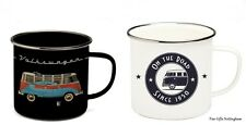 VW T1 Camper Enamel Mugs - VW Collection by Brisa - Official Volkswagen Mugs