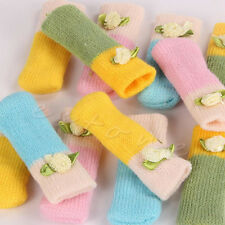 4pcs Knit Floor Foot Protector Chair Table Leg Sock Sleeve Cover Anti Scratch