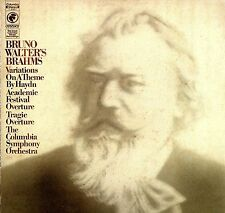 Bruno Walter's Brahms~The Columbia Symphony Orchestra~Odyssey LP Y30851~ EX