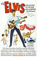 """""""SPINOUT """" ELVIS PRESLEY Retro Movie Poster A1A2A3A4Sizes"""