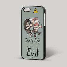 Girls Are Evil Funny Quirky Cute Cool iPhone Cover Phone Case