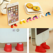 Shoes Stand Data Port Dust Plug For iPhone 4 iPhone5 Cute Shoes Shape Dust Plug