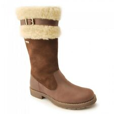 *SALE* Start-rite AQUA CHILL Girl's Brown Leather/Suede Boot WATER RESISTANT