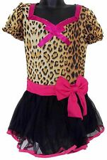 Leg Avenue Girls Leopard Pretend Dress Up Halloween Costume Leg Warmers Headband