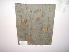 Lee Jofa Groundworks fabric remnant for craft damask Kyma Chenille mult colors