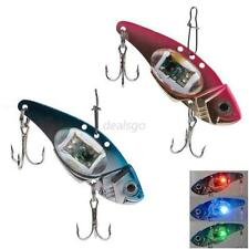 Flashing Led Light Fishing Lure Bait Deepwater Crank Bass Pike Casting Hot D11