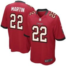 NIKE NFL Tampa Bay Buccaneers #22 D Martin Red White Football Jersey NEW Mens L