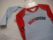 NWT BABY GUESS SIZE 0/3M & 3/6M ONE PIECE LONG SLEEVE LAYETTE OUTFIT