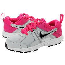 Nike Dart 10 GS/PS Running Trainers Grey/Pink