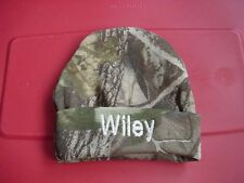 Personalized Baby Infant Newborn Hat Cap Camo Camouflage Hunting Free shipping