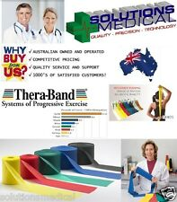 THERABAND EXERCISE STRETCH  RESISTANCE BAND THERA-BAND 5.5m LENGTHS ALL COLOURS