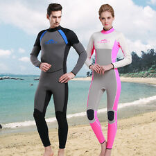 New Scuba Diving Jump Surfing Warm Wetsuits 3mm Neoprene Professional Dive Suit