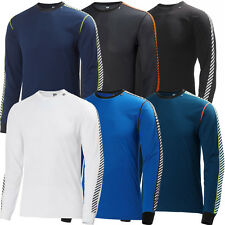 Helly Hansen 2015 Mens HH Dry Stripe Crew Base Layer Long Sleeve Lifa Stay Dry