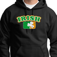 Irish Pride Flag Ireland T-shirt Celtic Pride Shamrock Gaelic Hoodie Sweatshirt