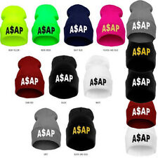 Hip Hop men's women ASAP Beanies Ski Winter Warm Cotton cap Unisex knit wool Hat
