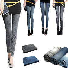New Sexy Fashion Slim Fit Pencil Jeans Trousers Casual Women  Denim Pants Hot