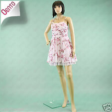 Geri @ NEXT 1950s Inspired Pink Floral Boned Bandeau Corset Prom Cocktail Dress