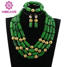 Nigerian Traditional Wedding African Beads Jewelry Set Coral,Orange Coral Beads