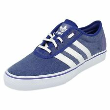 New adidas Originals Adi-Ease Canvas Trainers Blue White