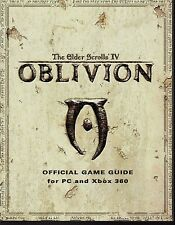 The Elder Scrolls IV~ Oblivion~ Official 2006 Game Guide for PC & Xbox 360