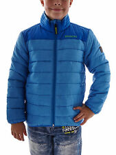 Brunotti Quilted Jacket Mirikas Jr blau Pockets Stand up collar