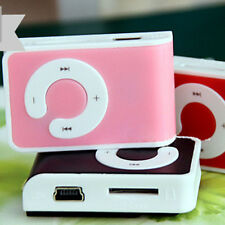 Lovely Mini Clip USB MP3 Music Player Support 1-8GB Micro Memory SD TF Card New